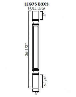 AG-LEG75 B3x3