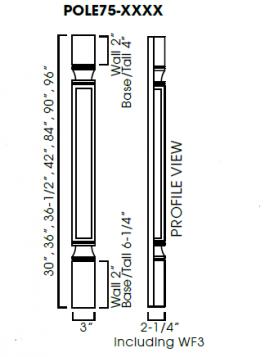 AG-POLE75-T396